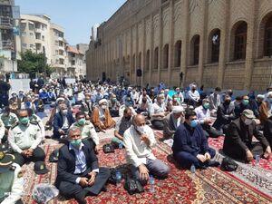 عکس/ نماز جمعه ساری با رعایت پروتکلها