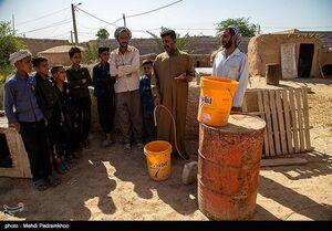 عکس/ تشنگی بیپایان روستاهای غیزانیه