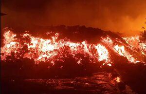 فوران آتشفشان در کنگو