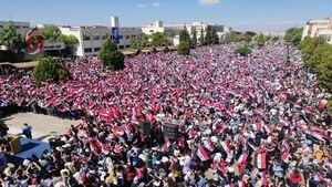 عکس/ تجمعات انتخاباتی مردم سوریه