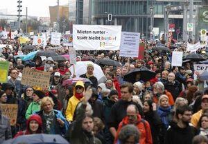 برگزاری اعتراضات گسترده علیه اجاره بالای مسکن در برلین
