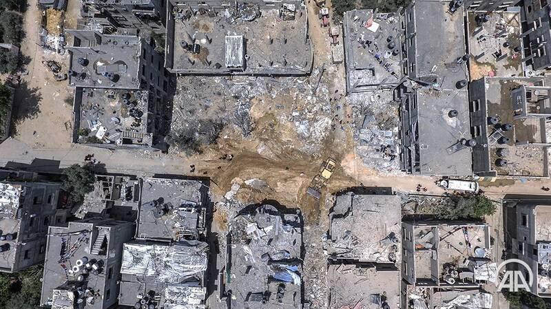 حجم خرابیهای ناشی از حملات اسرائیل به غزه +عکس