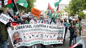 تظاهرات از «نهر تا بحر» در آمریکا در حمایت از فلسطین