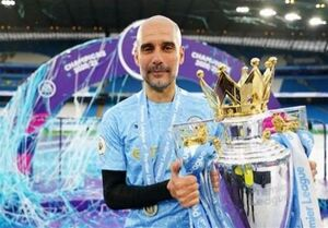گواردیولا بهترین مربی سال فوتبال انگلیس شد