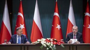 اردوغان: جنگندههای اف ۱۶ ترکیه در لهستان مستقر خواهند شد