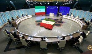 عکس/ آغاز پخش زنده مراسم قرعهکشی برنامههای انتخاباتی در رسانه ملی