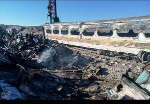 قطار مسافربری یزد - بادرود - تهران دچار حریق شد/مسافران به ایستگاه بادرود منتقل شدند