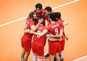 ۱۴ بازیکن والیبال ایران مقابل ژاپن