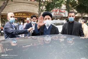 سید ابراهیم رئیسی از بیمارستان میلاد تهران بازدید کرد