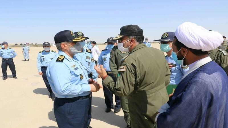 امیر سرتیپ نصیرزاده از پایگاه هوایی چابهار کرد