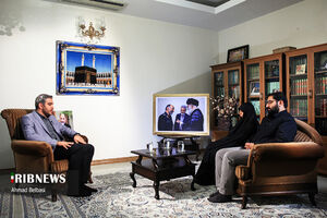 عکس/ بدون تعارف با خانواده سردار حجازی
