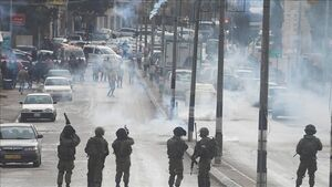 زخمی شدن ده ها فلسطینی در کرانه باختری