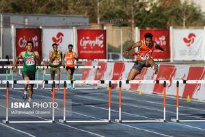 بدشانسی دونده ایرانی در دایموند لیگ قطر