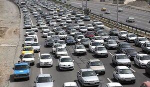 فیلم| ترافیک در آزاد راه تهران-پردیس