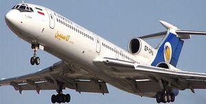 پرواز تهران بندرعباس به دلیل نقص فنی به مهرآباد بازگشت