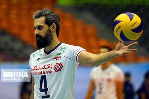 اسامی ۱۴ والیبالیست ایران برای بازی با روسیه
