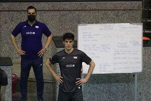 امتیازآورترین بازیکن والیبال ایران در بازی با روسیه