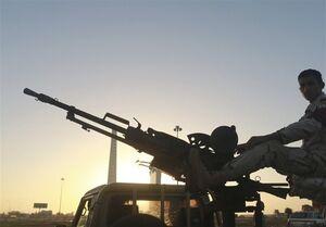 سقوط یک بالگرد نظامی در لیبی