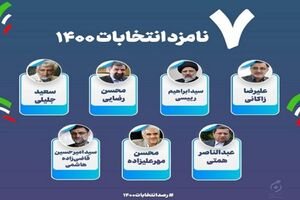 جزئیات برنامههای تبلیغاتی نامزدها یکشنبه ۹ خرداد