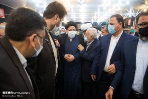 عکس/ دیدار آیتالله رئیسی با جمعی از نمایندگان ادوار مجلس