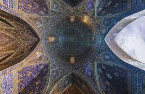 عکس/ معماری دیدنی مسجد امام در اصفهان