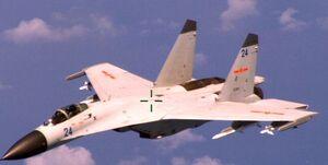 رهگیری ۱۶ جنگنده چینی از سوی جتهای هاوک نیروی هوایی مالزی