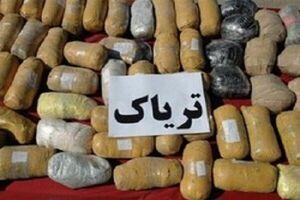 قاچاقچی مواد با ۷۷۵ کیلو تریاک دستگیر شد