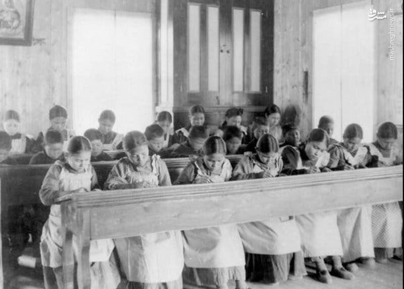 تجاوز جنسی و قتل عام، سرنوشت کودکان بومی در مدارس کاتولیک کانادا +عکس و فیلم
