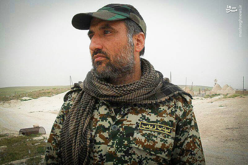 فیلمبرداری آقا اسدالله؛ راهگشای نیروهای امنیتی + عکس