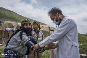 واکسیناسیون در چادر عشایر