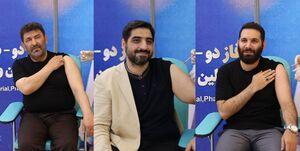 ۳ مداح و یک منبری دیگر واکسن ایرانی برکت را تزریق کردند+ عکس