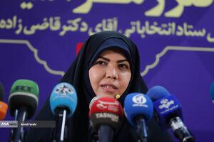 عکس/ نشست خبری رئیس ستاد قاضیزاده هاشمی