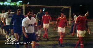 عکس تاریخی؛ ایران - هنگ کنگ در مقدماتی جام جهانی ۱۹۷۸