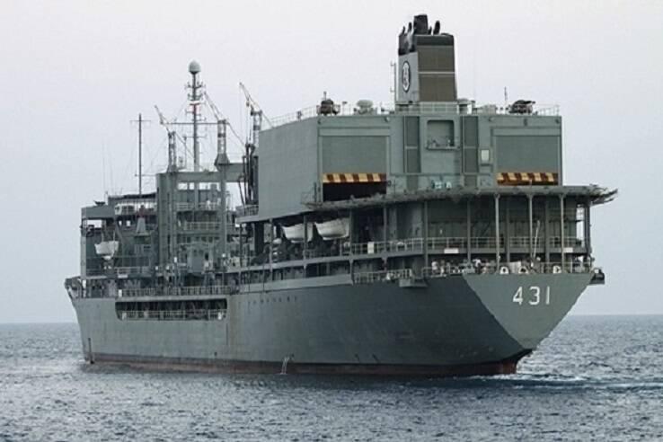 نهنگ پیر صنعت دفاعی ایران در آغوش خلیج فارس