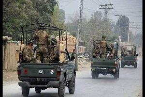 انفجار خونین در ایست بازرسی ارتش پاکستان