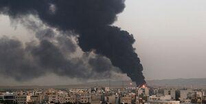 آتش سوزی پالایشگاه تهران به صورت کامل مهار و اطفاء شد