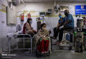 طی ۲۴ ساعت کرونا در هند ۲۸۸۷ قربانی گرفت