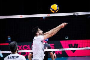 آمار نهایی دیدار والیبال ایران و کانادا