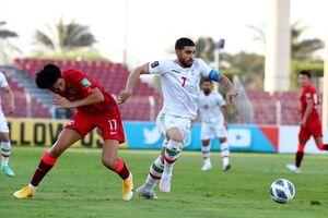 اولین گل رسمی تاریخ فوتبال هنک کنگ به ایران