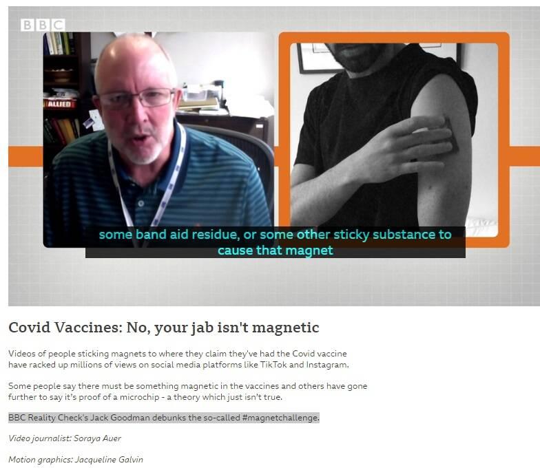 ماجرای آهنربایی شدن بدن بعد از تزریق واکسن کرونا چیست؟ +فیلم و عکس