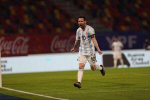 توقف آرژانتین مقابل شیلی در شب درخشش مسی