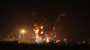 عملیات آتشنشانی در پالایشگاه نفت تهران پس از ۴۲ ساعت پایان یافت