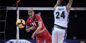 امتیازآورترین بازیکن دیدار ایران با ایتالیا مشخص شد