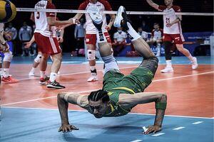 جایگاه ایران در پایان روز پنجم لیگ ملتهای والیبال
