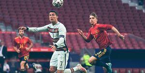 برد پرگل ایتالیا و تساوی اسپانیا و پرتغال در مادرید