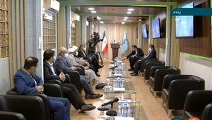 عکس/ محل قرعه کشی صندلی نامزدهای انتخابات در مناظره