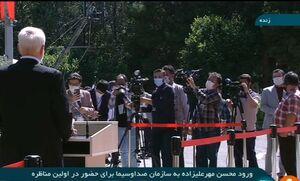 عکس/ حضور خبرنگاران در محل مناظره
