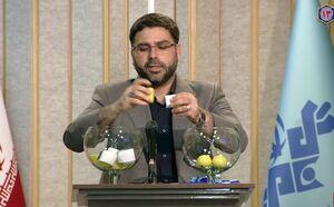عکس/ آغاز قرعه کشی صندلیهای نامزدهای انتخاباتی در مناظره