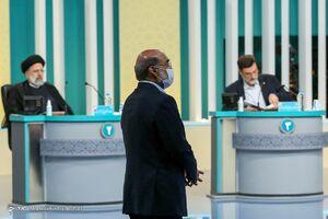 گزارش تصویری از اولین مناظره نامزدهای ریاست جمهوری