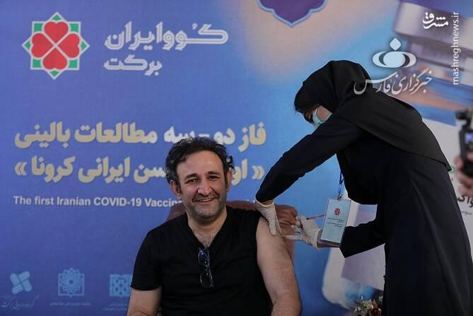 «هدایت هاشمی»، بازیگر محبوب تئاتر، تلویزیون و سینما و همسر بازیگرش، هر دو داوطلب تزریق واکسن کووایران برکت شدند